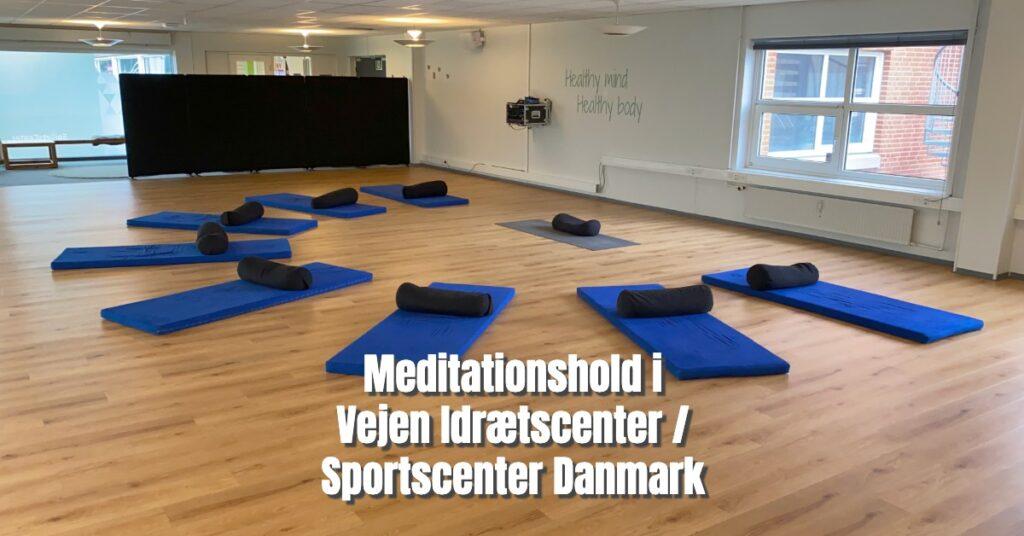 Meditationshold i Sportscenter Danmark / Vejen Idrætscenter - Succes med Livet