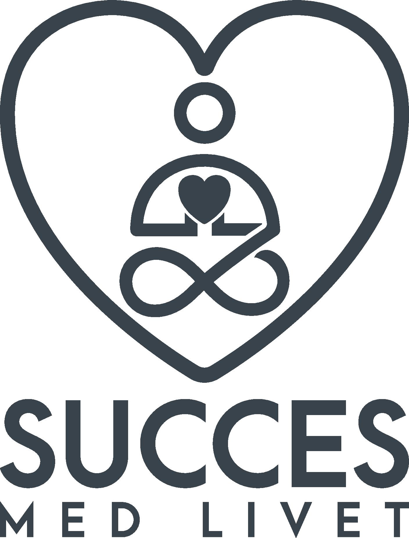 Succes med Livet Logo - Få det bedste ud af din dag - Hver dag