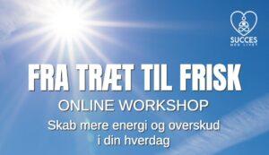 Fra Træt Til Frisk - Online Workshop - Succes med Livet